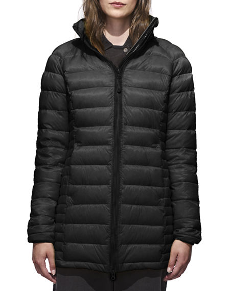 brookvale' packable hooded quilted down jacket canada goose
