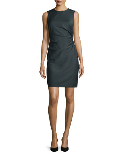 Jorianna Continuous Stretch Sheath Dress, Gray
