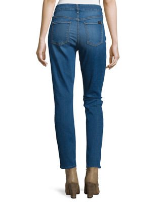 Image 2 of 3: Riche Touch Classic Skinny Ankle Jeans