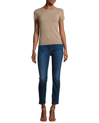 Image 3 of 3: Riche Touch Classic Skinny Ankle Jeans
