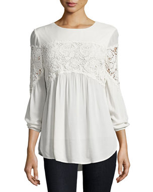 2eeb087984b073 Women s Designer Tops Clearance at Neiman Marcus