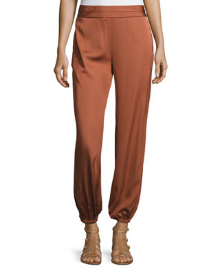 Elizabeth and James Pascal Tapered Stretch Jersey Pants