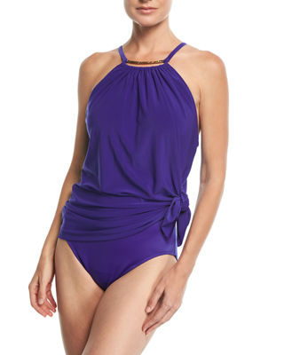 Parker Golden Opportunity One-Piece Swimsuit/Swimdress