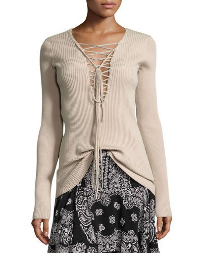 A.L.C. Duvall Jacket, Solana Sweater & Vera Skirt