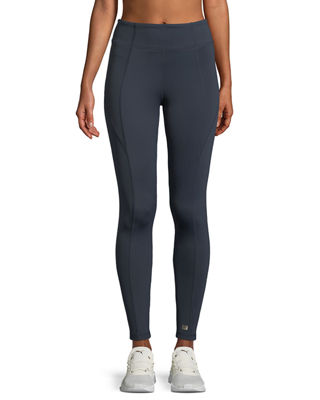 Aurum Paneled High-Rise Leggings