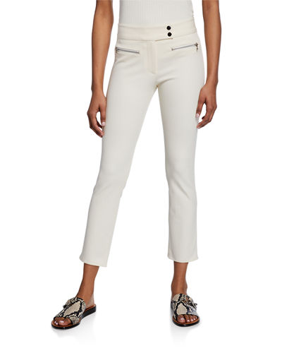 Metro Cropped Kick Flare Pants