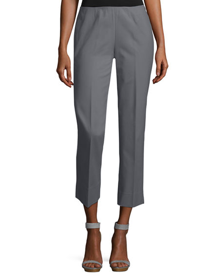 Image 1 of 4: Lafayette 148 New York Stanton Cropped Ankle Pants