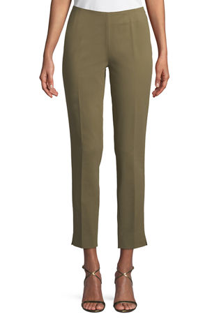 Lafayette 148 New York Stanton Cropped Ankle Pants