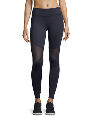 Bayview Mesh-Panel Sport Leggings