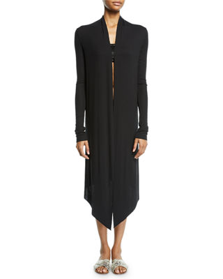 Michi Open-Front Midi Cardigan, One Size