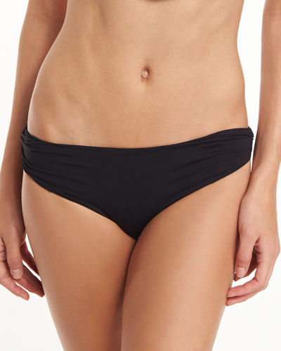 Venice Twisted-Side Swim Bottom