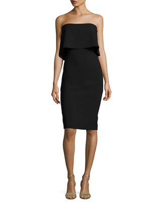 LIKELY Driggs Strapless Dress in Black