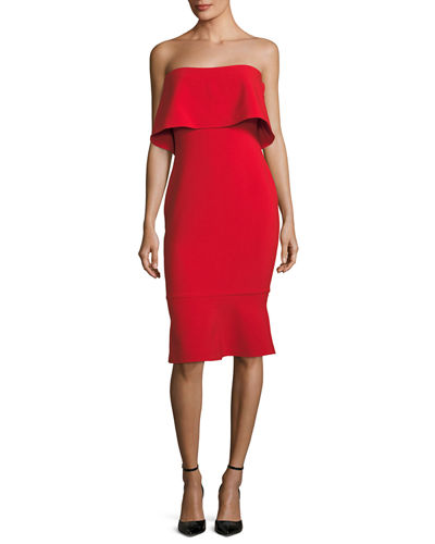 Driggs Strapless Cocktail Dress