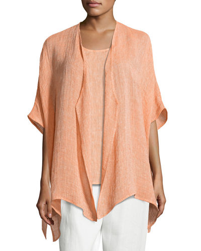 Gauze Easy-Fit Cardigan