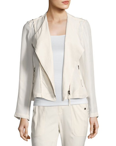 Go by Go Silk Go Biker Silk Jacket