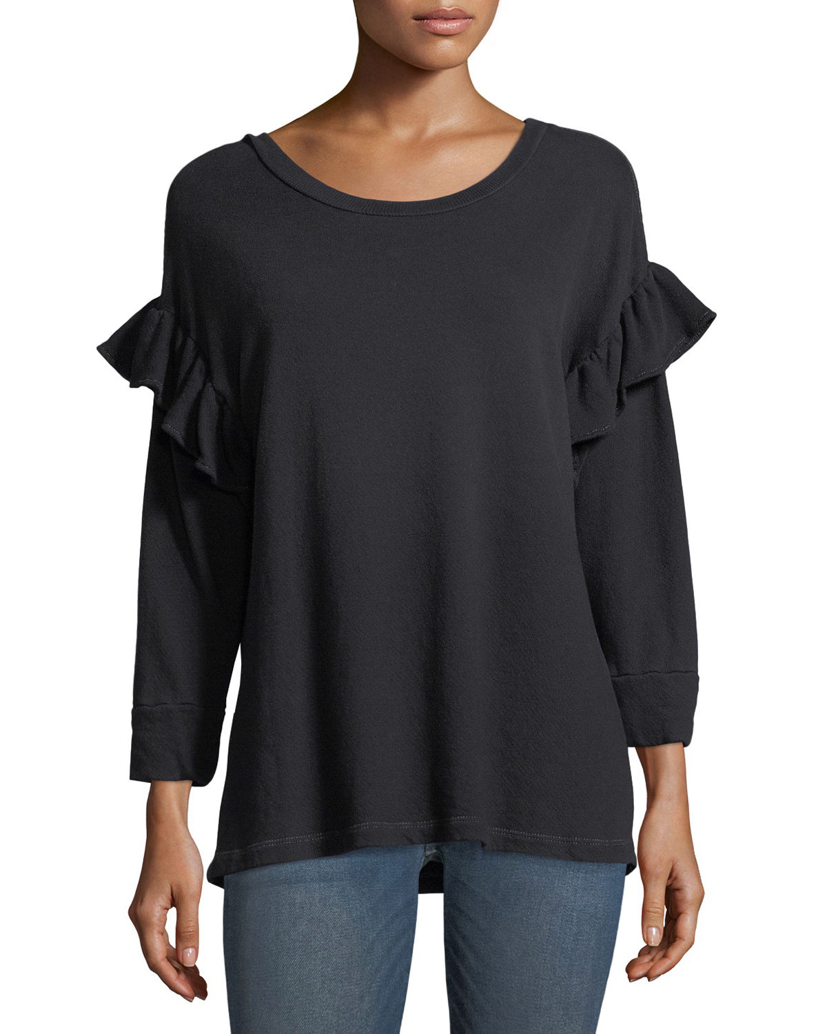 The Ruffle Sweatshirt