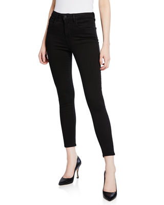 L'Agence Margot High-Rise Skinny-Leg Ankle Jeans