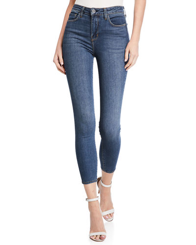 Margot High-Rise Skinny Ankle Jeans
