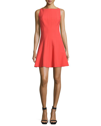 Elizabeth and James Hollis Sleeveless Fit-and-Flare Dress