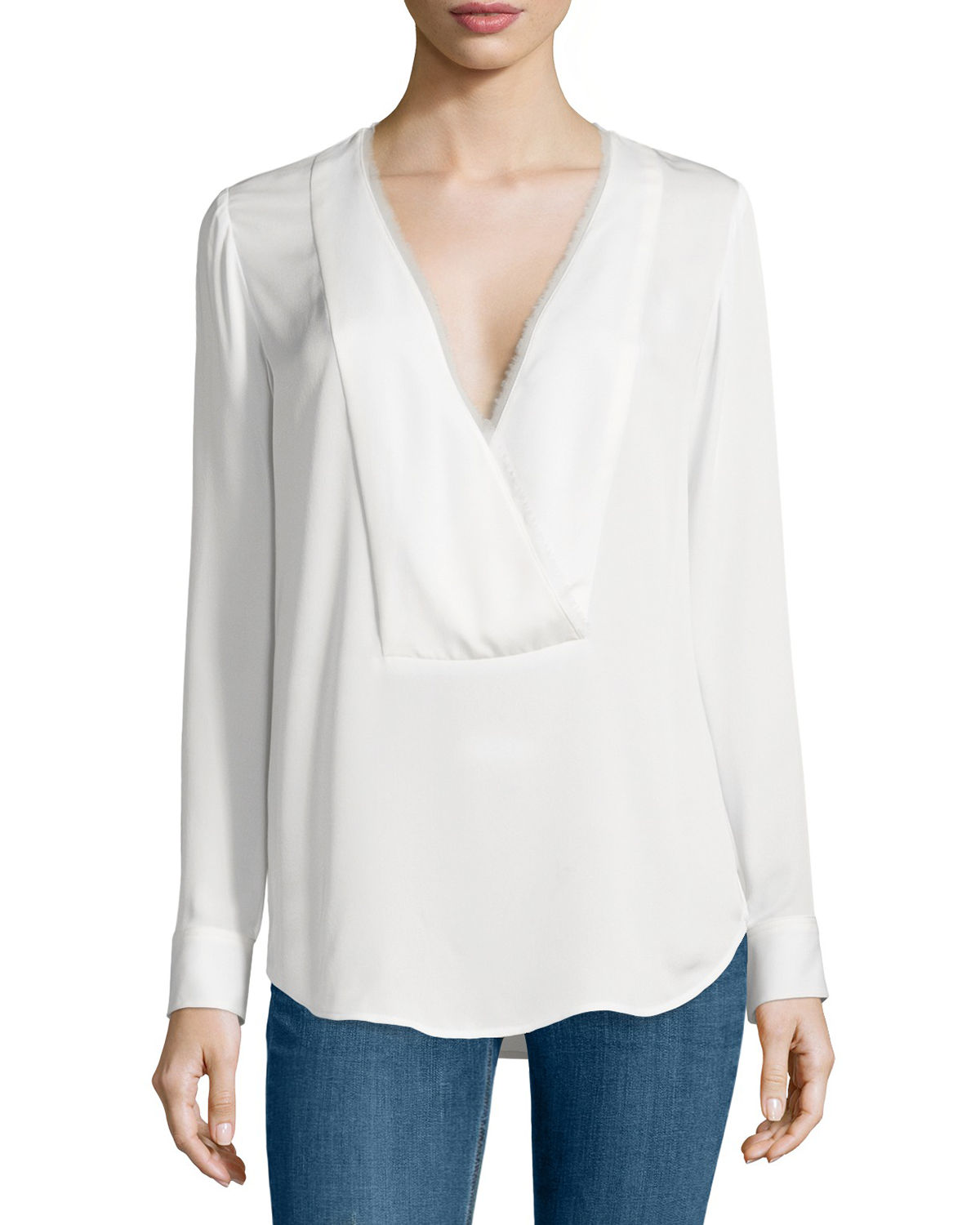 Ramalla Reversible Long-Sleeve Top