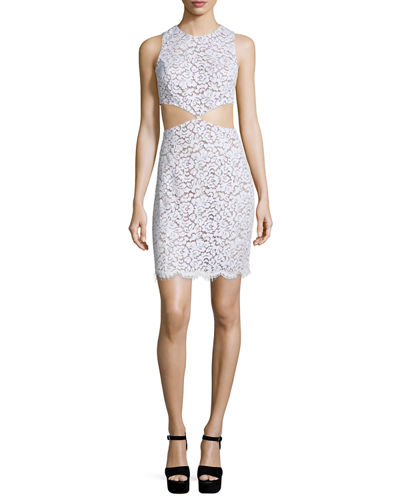 Michael Kors Collection CUT OUT MINI DRESS