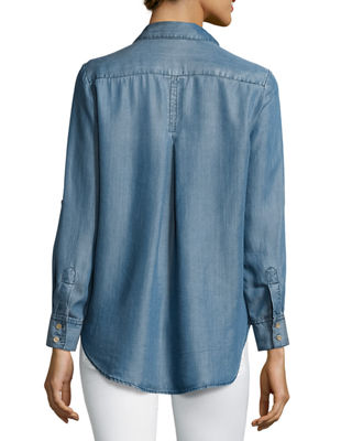 Aiden Button-Up Blouse