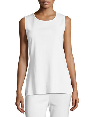 Misook Knit Scoop-Neck Tank Top, Plus Size