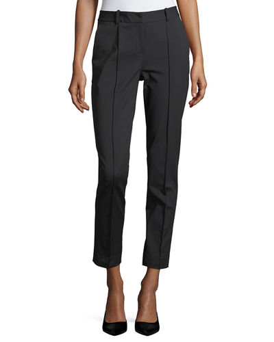 Fundamental Bi-Stretch Steamed Pant w/ Back Slit