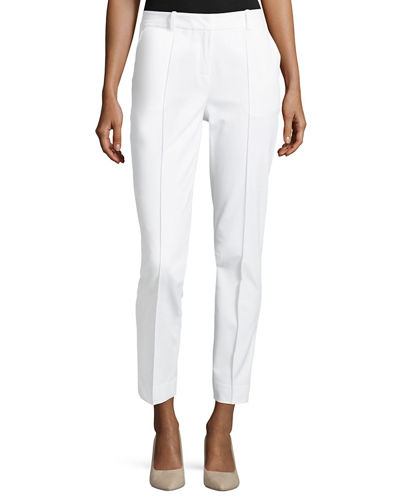 Lafayette 148 New York Center-Seam Slim Pants