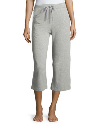 French Terry Cropped Lounge Pants