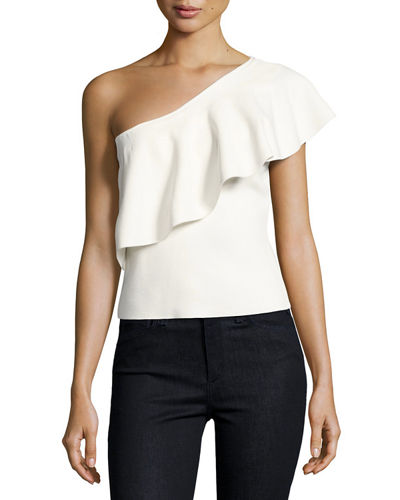 Milly Flounce Top & Pencil Skirt