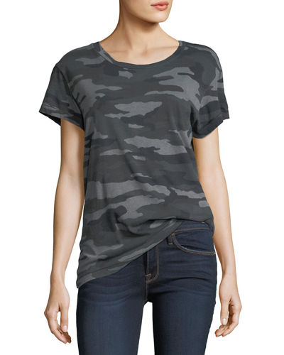 Crewneck Camo Short-Sleeve Tee