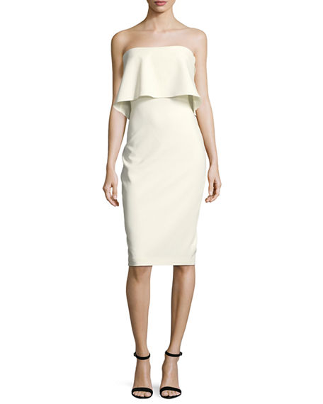 Likely Driggs Strapless Cocktail Dress