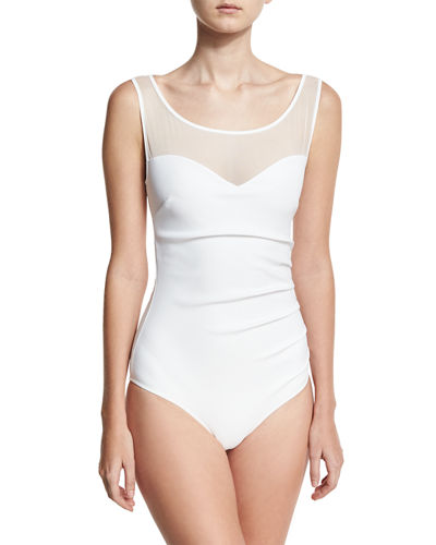Chiara Boni La Petite Robe Agave Illusion One-Piece