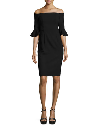 fcce13f37b Black Halo Sheath Dress