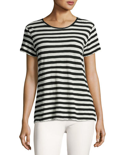 Proenza Schouler Cotton Tie-Back T-Shirt
