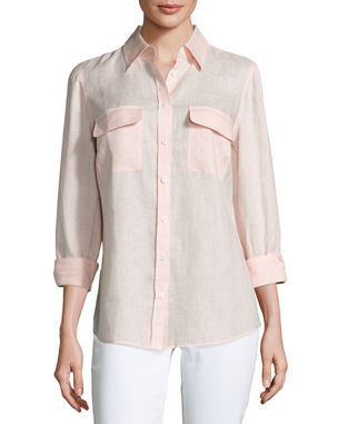 950984e54e95a Women s Button Down Shirts   Blouses at Neiman Marcus