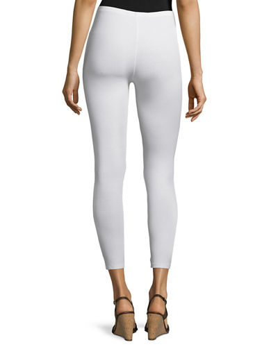 Stretch-Jersey Leggings, Petite