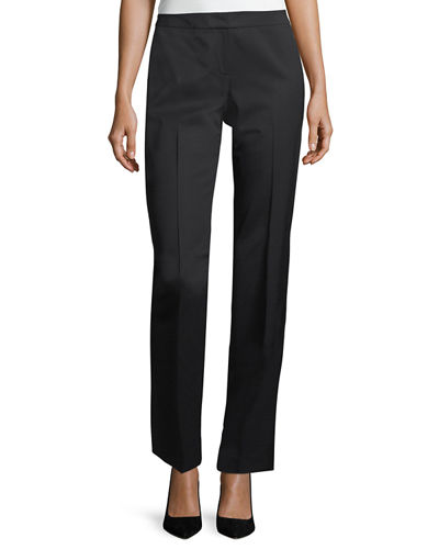 Lafayette 148 New York Barrow Stretch-Wool Pants and
