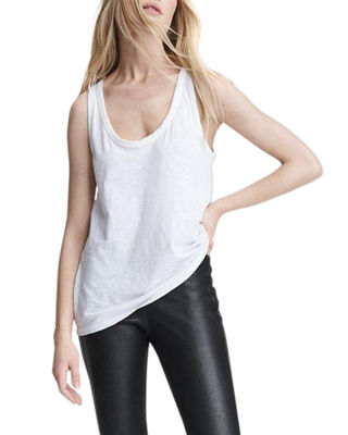 Image 1 of 4: The Scoop-Neck Tank Top