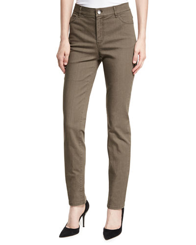 Lafayette 148 New York Thompson Slim-Leg Jeans, Plus