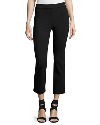 Stacey Ponte Cropped Pants