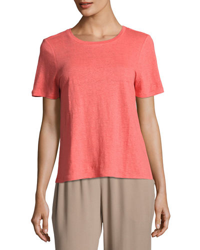 Eileen Fisher Organic Linen Jersey Top
