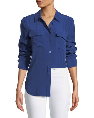 Image 1 of 2: Silk Slim Signature Top