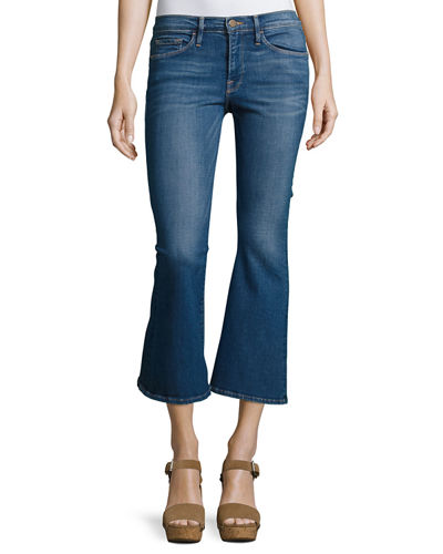 FRAME Le Crop Bell Jeans, Harvey and Matching