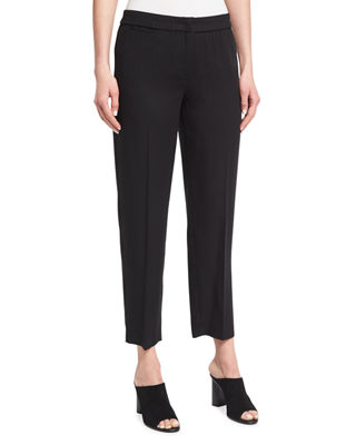 Eileen Fisher Woven Tencel?? Ankle Trousers