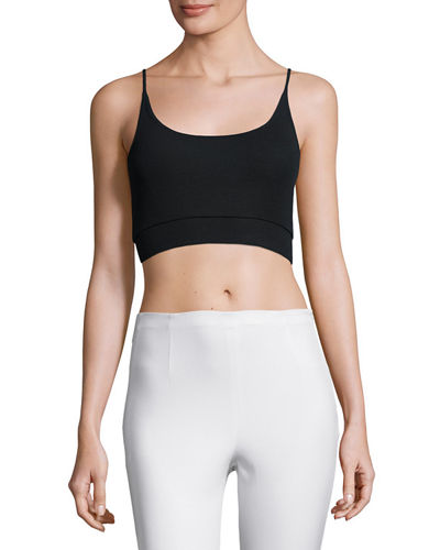 Stretch Jersey Cropped Camisole