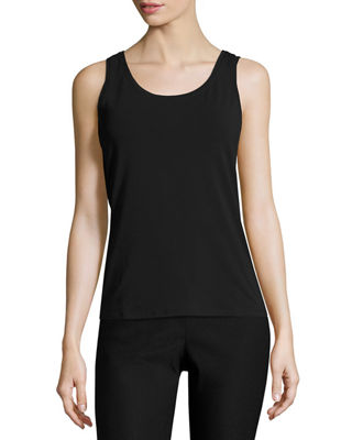 NIC+ZOE Perfect Jersey Scoop-Neck Tank, Petite