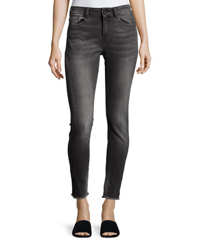 Etienne Marcel Mid-Rise Cropped Skinny Jeans
