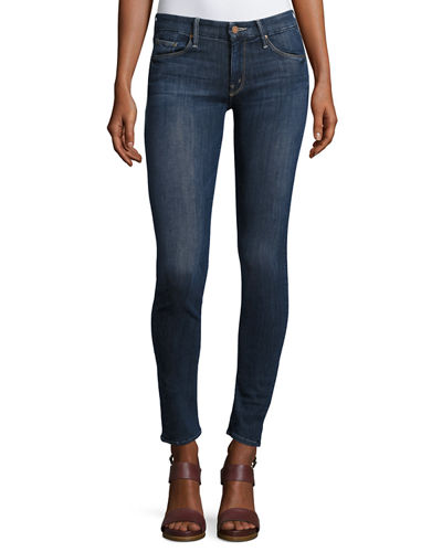 Mother Denim Looker Mid-Rise Skinny Jeans